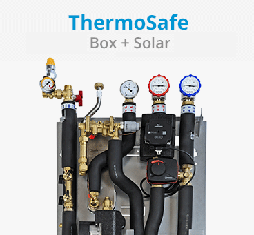 ThermoSafe Box + Solar ohne Regelung
